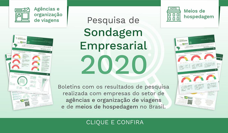 Confira os Boletins da Pesquisa de Sondagem Empresarial 2020