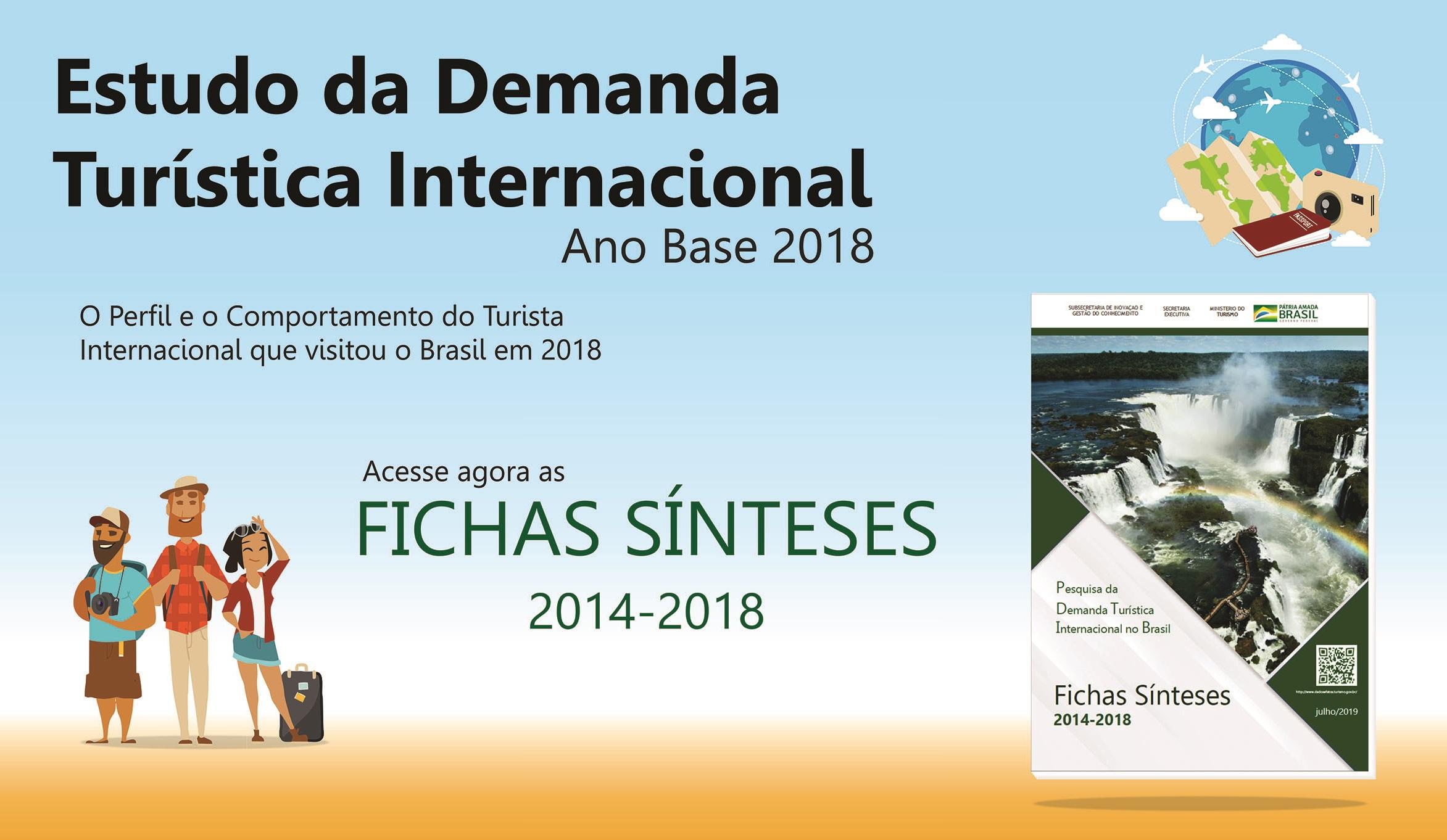 Estudo da Demanda Turística Internacional - Fichas Sínteses 2014-2018